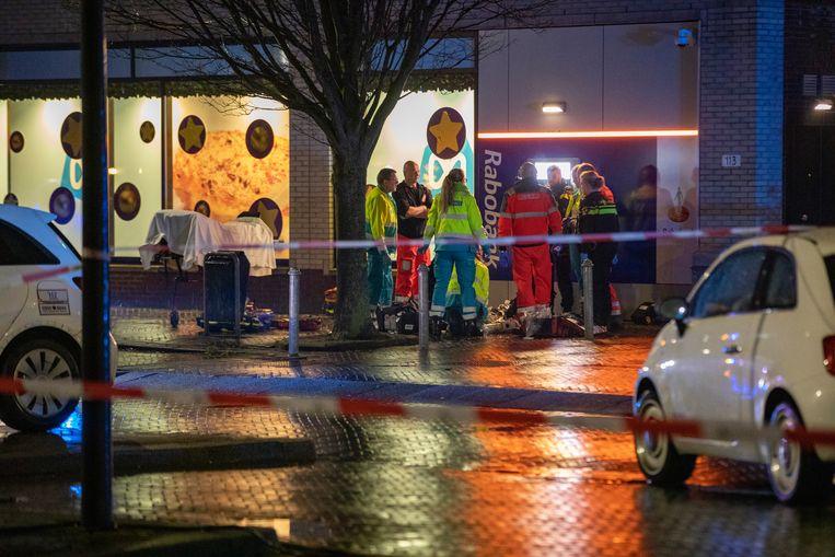 De steekpartij vond plaats bij winkelcentrum Toolenburg in Hoofddorp. Beeld ANP