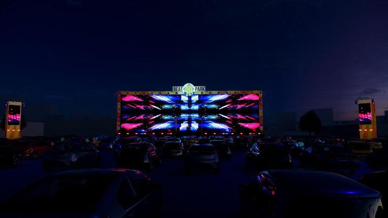 Beat Park brengt festivalgevoel tot in je wagen. Beeld RV