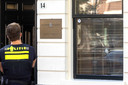 Kogelgaten bij een advocatenkantoor dat is beschoten in het centrum. Het gaat om het kantoor van Kuijpers & Nillesen Advocaten.