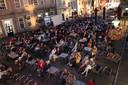 Zo'n 350 mensen genoten zaterdagavond buiten van een film.