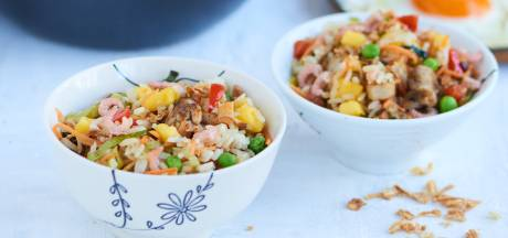 Wat Eten We Vandaag: Nasi goreng met mango