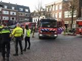Brandweer rukt massaal uit naar brand Domplein