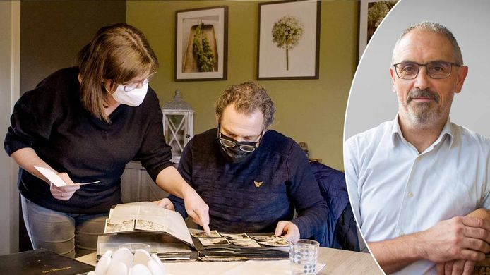 Een beeld uit de eerste aflevering van 'Erfgenaam Gezocht' (links). Belastingexpert Michel Maus (rechts).