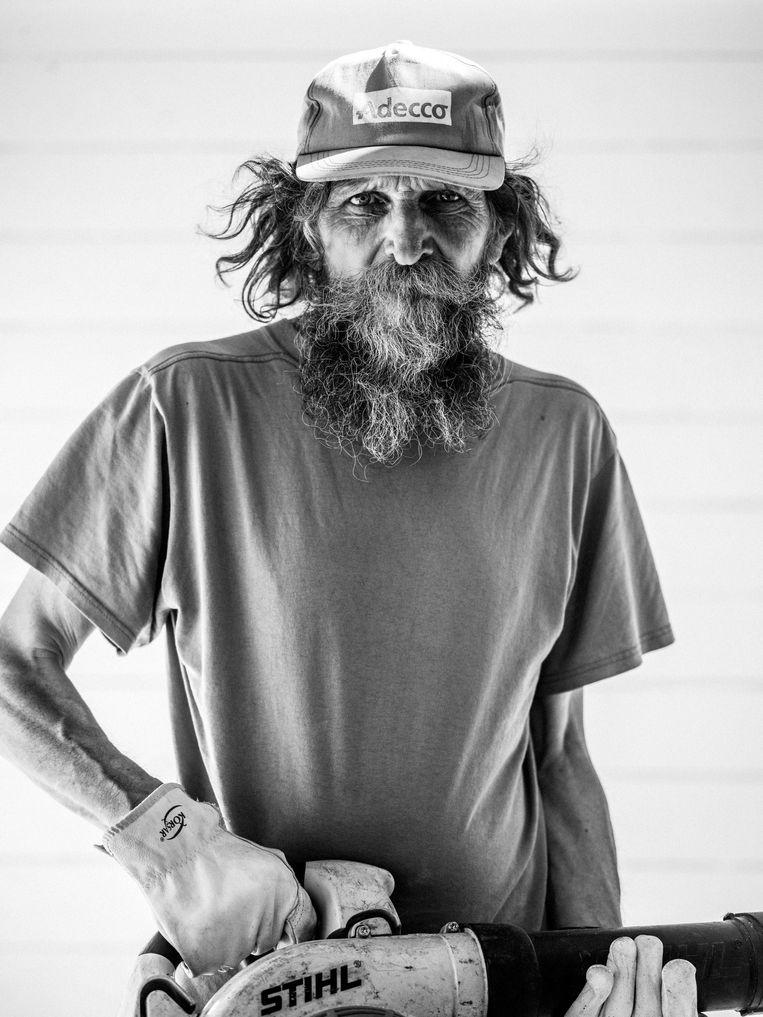 Merkem, Marcel (64): 'Of ik al naar mijn pensioen verlang? Bwa.' Beeld Jelle Vermeersch