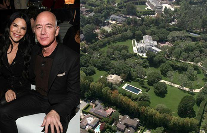 Jeff Bezos et sa compagne Lauren Sanchez.