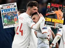 """La """"Squadra"""" qualifiée, mais la presse italienne et espagnole encensent la """"Roja"""": """"Cette Espagne mérite tous les éloges"""""""