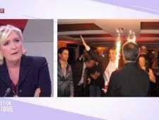 """Marine Le Pen dénonce les """"méthodes de voyou"""" de Pujadas"""