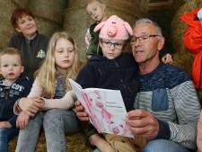 Oud-topsporter Bert Vreeswijk schrijft kinderboekje over biggetjes Knorretje en Vlekkie