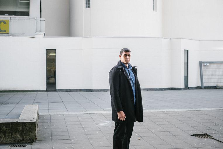 Rechtenstudent Yassine Boutbout: