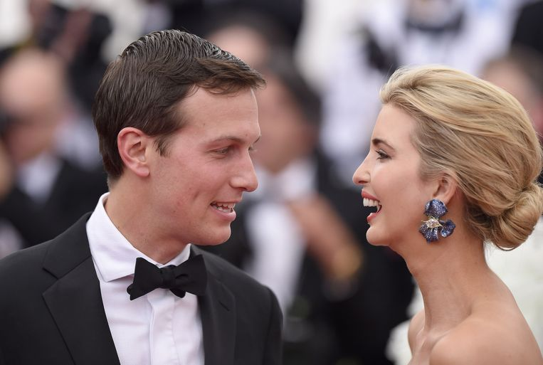 ► Jared Kushner en Ivanka Trump leerden elkaar in 2005 kennen. Beeld FilmMagic