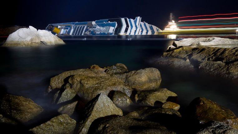 De Costa Concordia. Beeld REUTERS