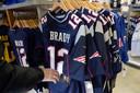 Tom Brady-shirts zijn niet aan te slepen.