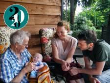 De dood en het nieuwe leven in tijden van corona: 'Mijn vader zag onze baby nog'