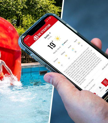 Nieuw! Check het weer in jouw buurt nu via de app van de Stentor