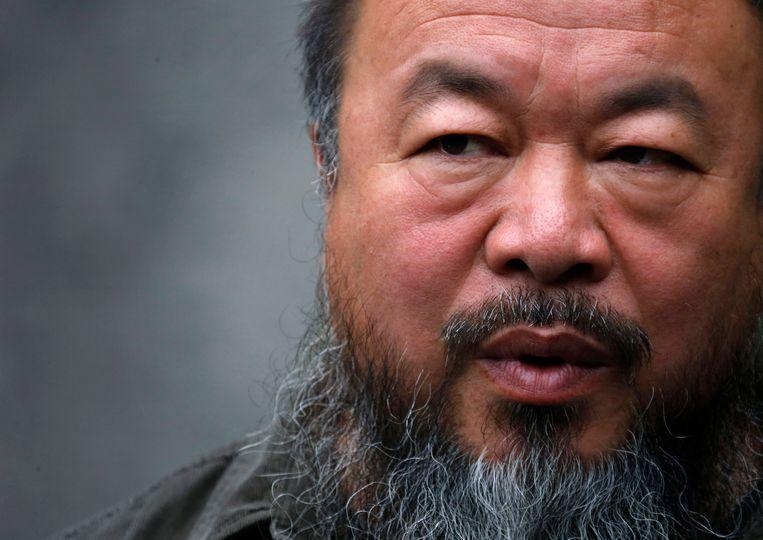 Activist Ai Weiwei. Beeld REUTERS
