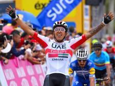 Fin de Giro pour Molano, suspendu par son équipe