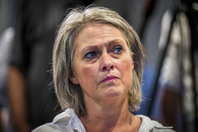 Berthie, de moeder van Nicky Verstappen.