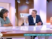 Anne Sinclair étrille le nouveau projet de Julien Courbet, il lui répond cash