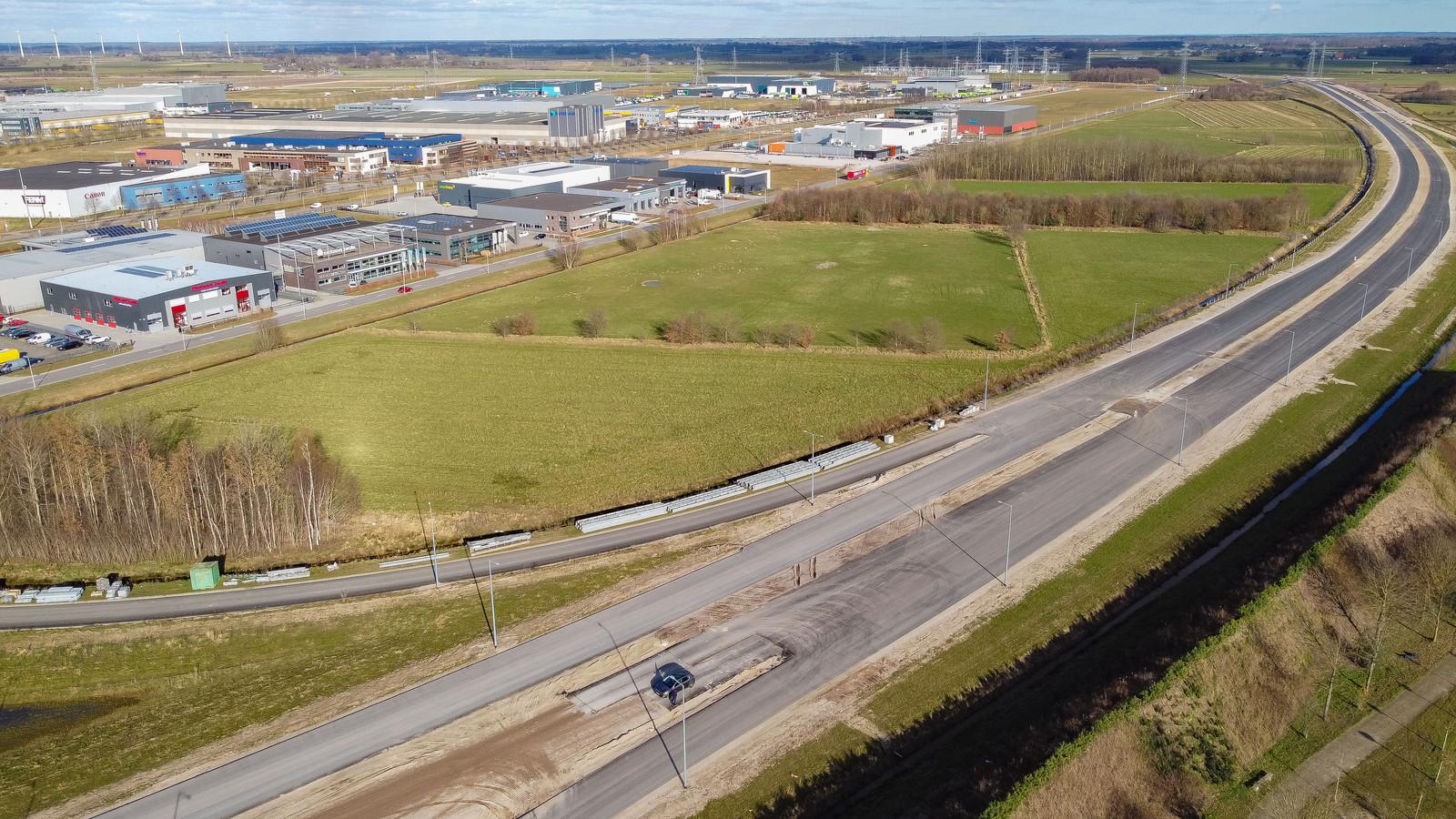 De gemeente Zwolle denkt na over uitbreiding van Hessenpoort met een strook aan de zuidzijde voor kleinere bedrijven. Het is het gebied ten zuiden van de Bohemenstraat langs de nieuwe N340.