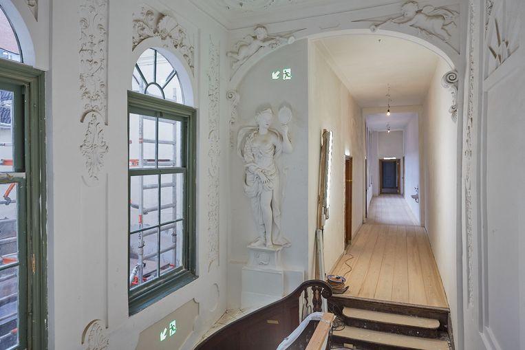 Een van de best bewaarde interieurs van ons land, volgens directeur Marjan Scharloo.  Beeld Studio Johan Nieuwenhuize
