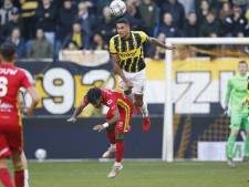 Doekhi mist killersinstinct bij Vitesse: 'Een ruime zege zou wel eens lekker zijn. Nu is elke wedstrijd een gevecht tot het einde'