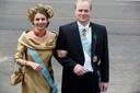 Prins Carlos en echtgenote prinses Annemarie