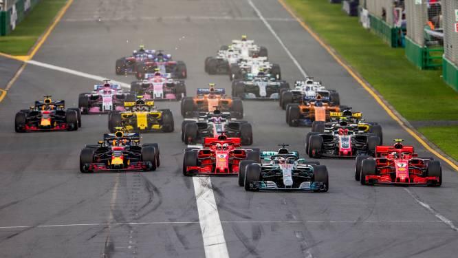 Formule 1 bevestigt kalender: 21 Grands Prix in 2019