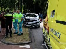 Vrouw raakt gewond bij botsing op Europalaan in Kaatsheuvel