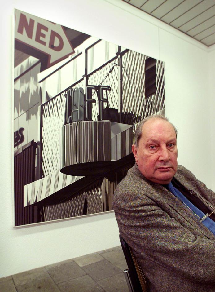 Kunstverzamelaar Hans Sonnenberg van Galerie Delta.