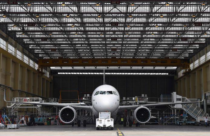Een Airbus A320.