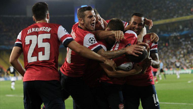 Arsenal tankt vertrouwen in Turkije: 0-3. Beeld ap