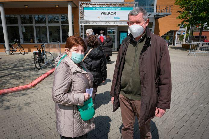 taxidienst van Zilverpunt: Marie-Louise en Marc Van Asch schuiven aan volgens tijdstip