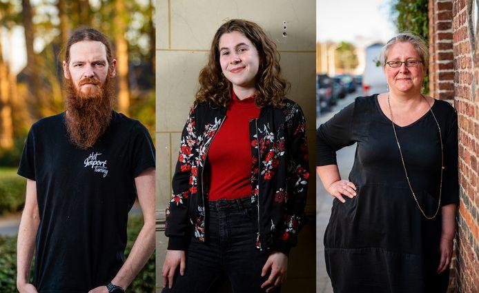 Sven Claes (33), Silke Van den Broeck (21) en Elke Van den Eeden (47) kregen vorig jaar corona. Vandaag kampen ze nog altijd met de gevolgen.