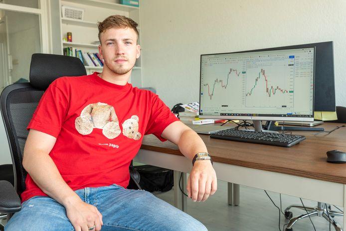 """Max Ripson uit Roosendaal: """"Ik heb zoveel winst gemaakt, daar zou ik vijf jaar op kunnen teren."""""""