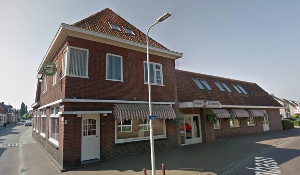 De Afspanning in Heerle, er komen appartementen in het horecapand.
