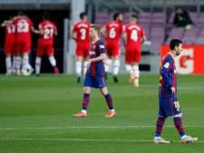 Deceptie voor Barcelona: historische nederlaag en rood voor Koeman