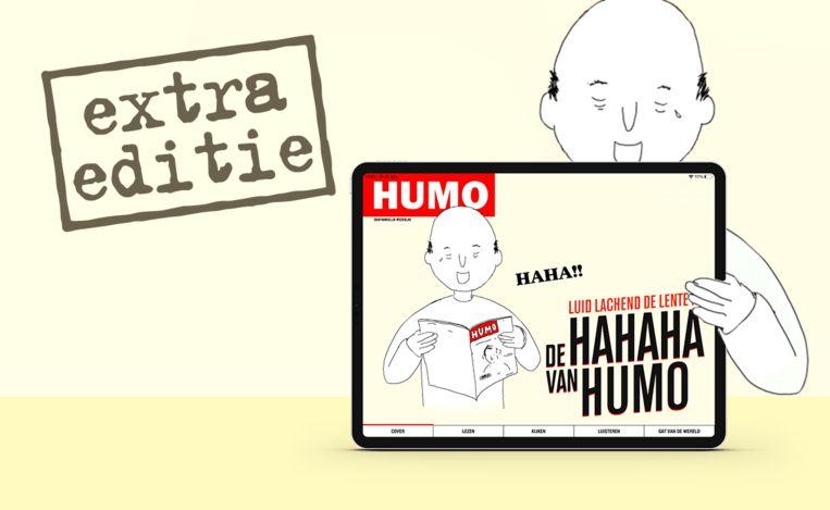 hahaha van humo Beeld Humo