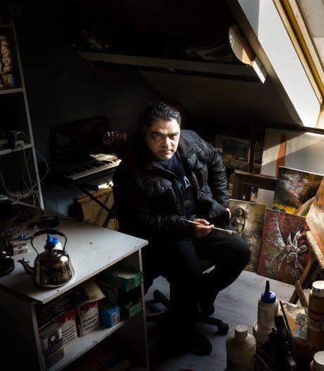 Nidal Abdulhadi vangt alle emoties in een kunstwerk