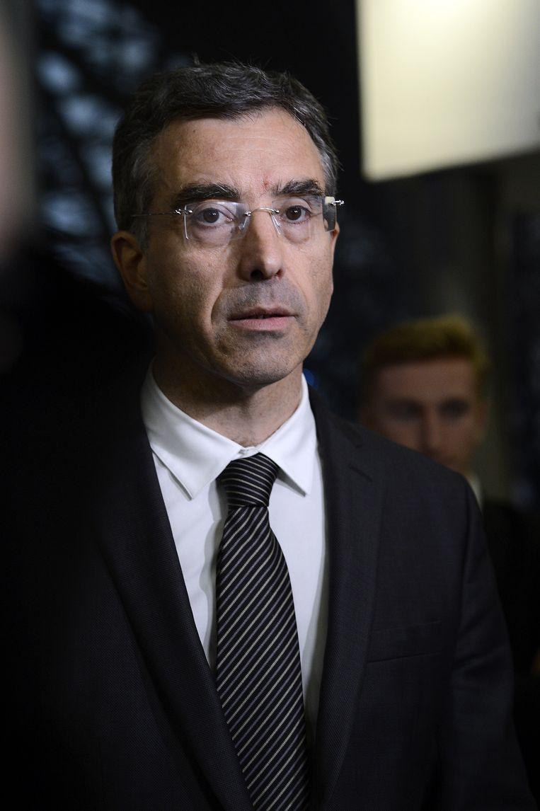 Dominique Reynié, politicoloog: 'Radicaal-rechtse politici zetten de toon. je kunt zeggen dat zij overdrijven, maar degenen die niet over immigratie wensen te praten, overdrijven evengoed.'  Beeld AFP