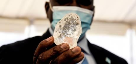 Un diamant exceptionnel découvert au Botswana
