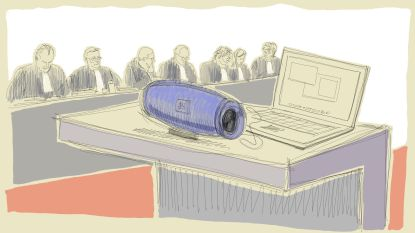 """LIVE. Jury luistert naar stiekeme geluidsopnamen van familie: """"Tot op de laatste minuut zeiden we nee"""""""