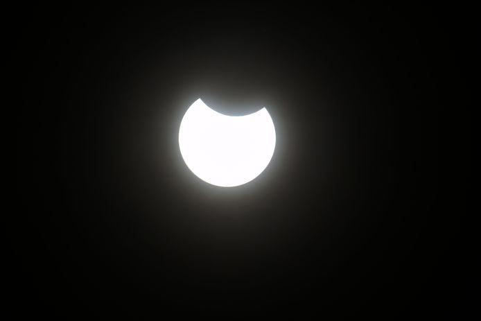 Oldenzaal - Gedeeltelijke zonsverduistering