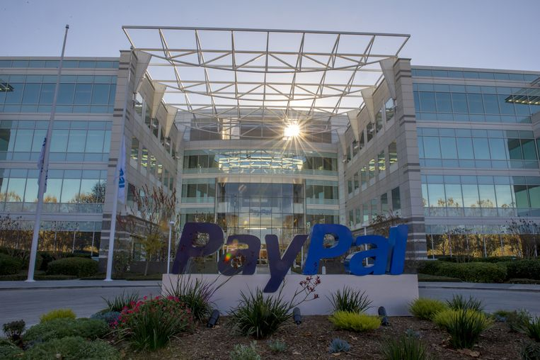 PayPal Inc. Beeld Getty Images
