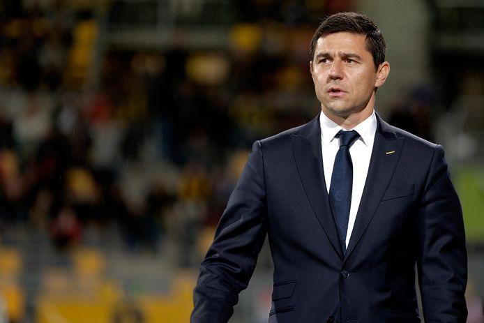 Darije Kalezic staat als trainer voor het eerst tegenover Jong PSV.