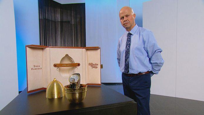 Fabergé-uurwerk bij verkoper Raymond