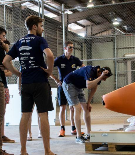 Zware tegenslag voor Solar Team Eindhoven: 'Dit heeft grote impact op onze kansen in de wedstrijd'