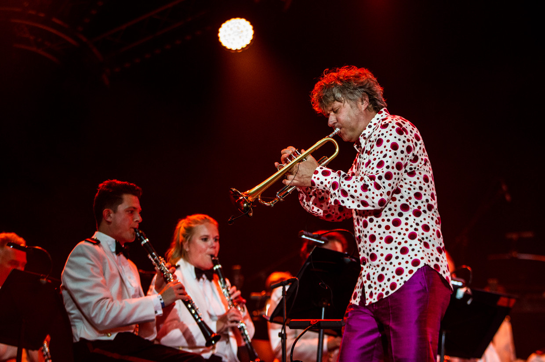 Eric Vloeimans op North Sea Jazz in Ahoy Rotterdam.