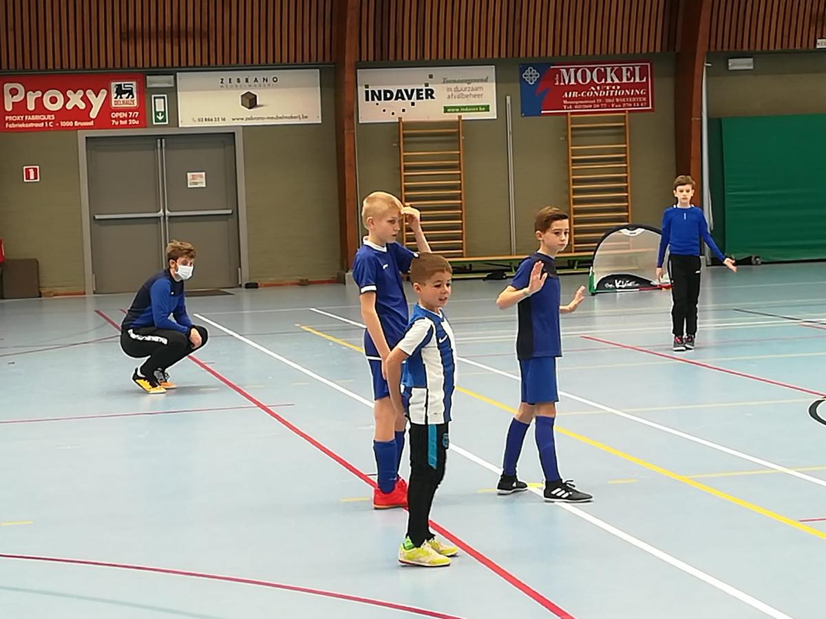 KFC Grimbergen organiseert een coronaproof kerststage voetbal.