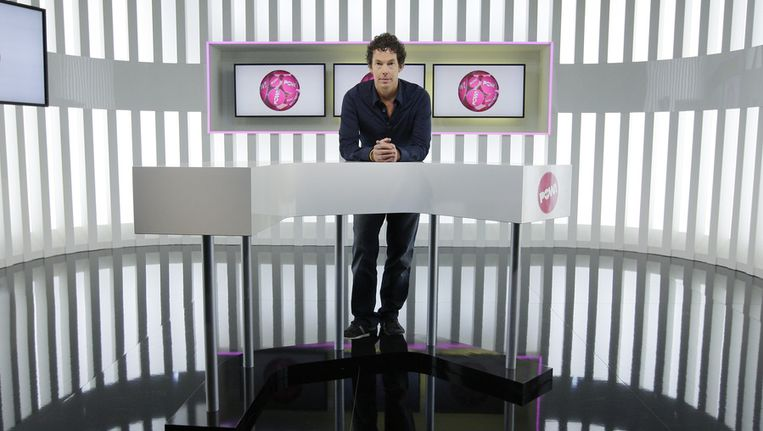 PowNews-presentator Dominique Weesie. Beeld ANP