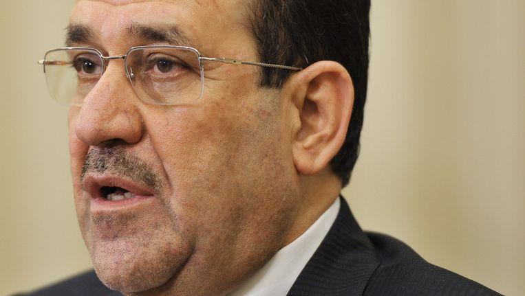 Premier Nuri al-Maliki Beeld afp
